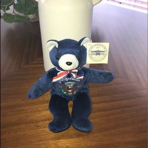 2005 George W. Bush Inaguaral Bear Collectible